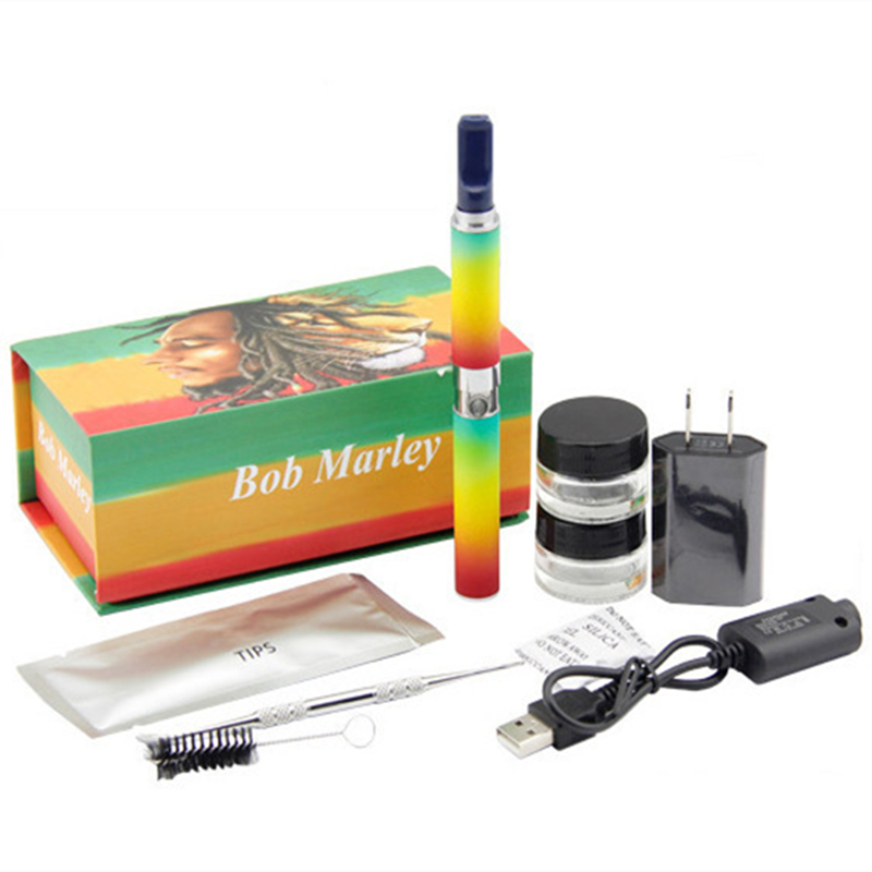 New Dry Herb Vaporizer E Cigarette kits Wax Pen Electronic Cigarette Same Configuration As Bob marley