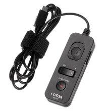 אוניברסלי FOTGA RM VS1 שלט רחוק תריס שחרור טיימר עבור SONY A7 A7R RX10 ILCE 7 מצלמות כמו RM VPR1