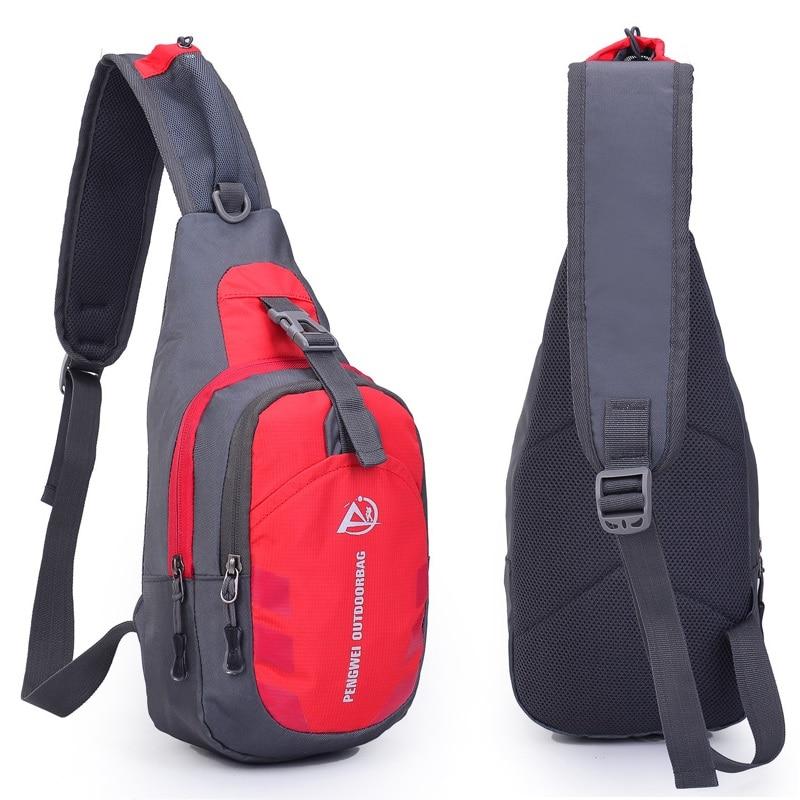Men Women Crossbody Shoulder Chest Bag Cycle Sling Sports Waterproof Backpack