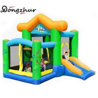 Dongzhur Bouncy Castle Inflatable Castle Jumping Trampoline For Children Bounce House Inflatable Bouncer Smooth Slide Inflatable