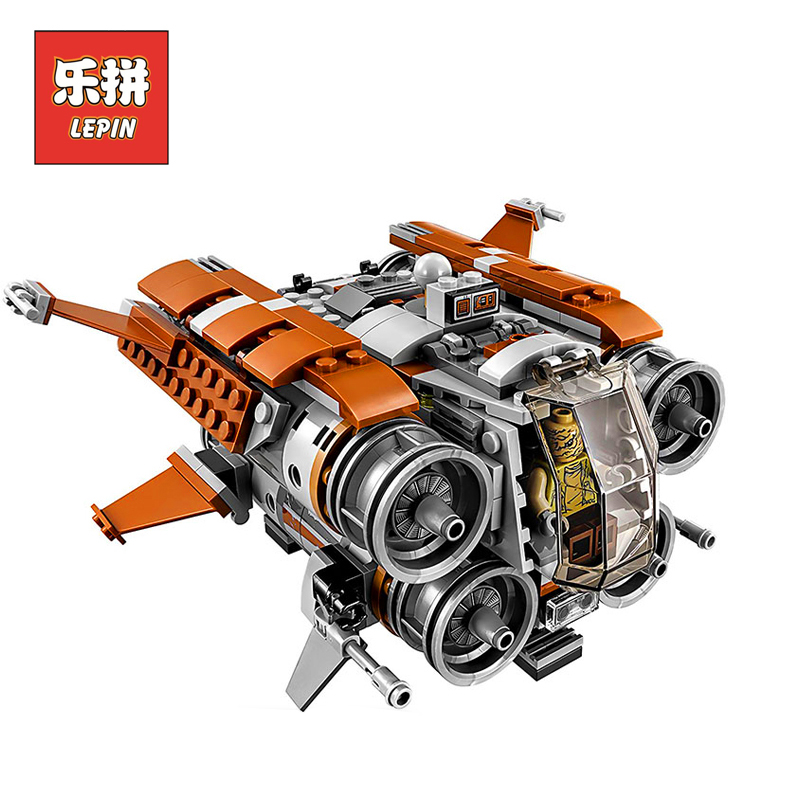 Lepin 05111 Stars Series War the Jakku Quadjumper 75178 Model Building Blocks Bricks Set DIY Educational Toys for Children Gift black pearl building blocks kaizi ky87010 pirates of the caribbean ship self locking bricks assembling toys 1184pcs set gift
