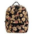 Mujeres Muchachas de Las Señoras Floral Mini Bookbag Viajes Mochila