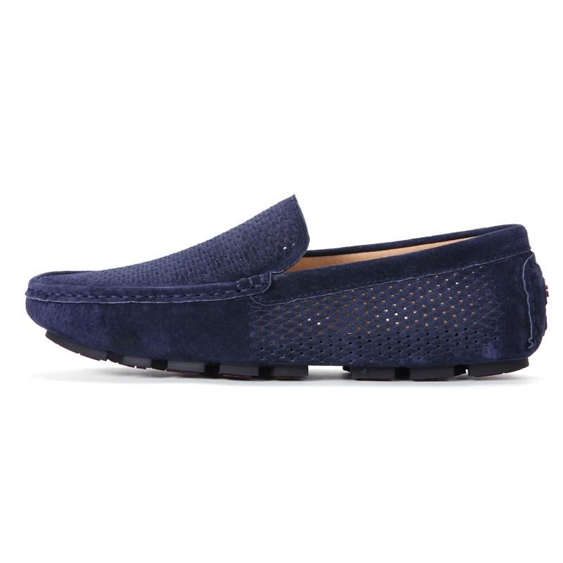 Marca Genuíno Homens Moda Luxo Loafers blue Couro Men Para De Designer Gray Sapatos Jkpudun Men black khaki Men Men Verão Casuais Oco Respirável Mocassins nAaYcOx