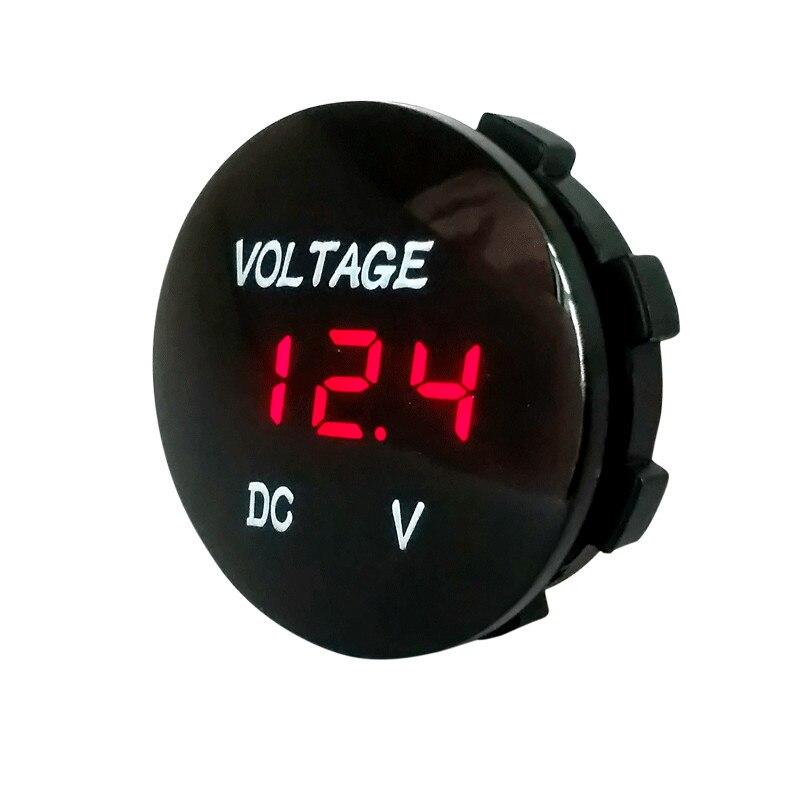 Waterproof 12 volt DC voltmeter//gauge for marine//boat//4WD//motorcycle//RV//DIY//auto