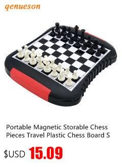 Armazenável Peças de Xadrez Magnético portátil Viagem