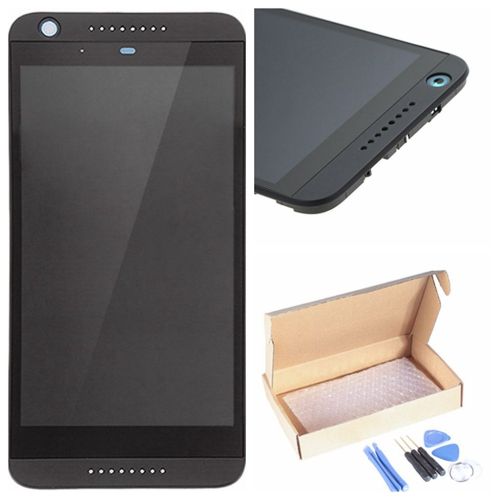 5.0 Inch Lcd Display Touch Screen Digitizer Assembly Replacement Parts For HTC 626 Black Color Free Repaired Tools