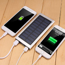 20000 MAh Power Bank External Battery Cepat Charge Dual USB Powerbank Portable Ponsel untuk iPhone 6 Charger Baterai Charger kasus(China)