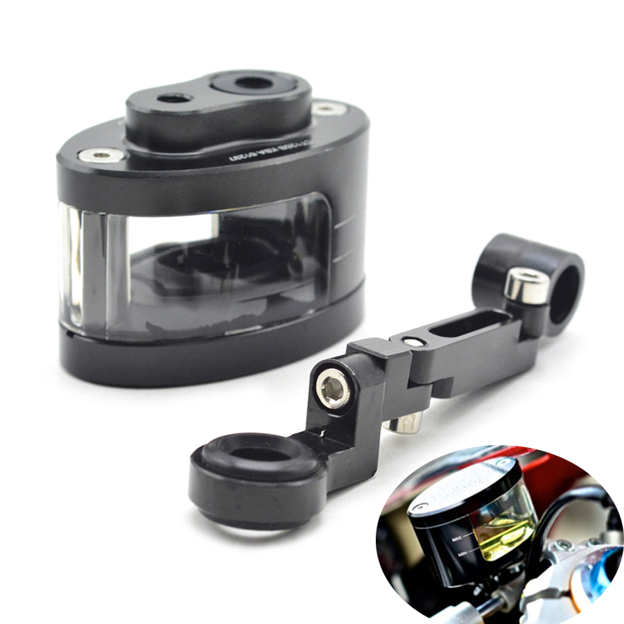 Universal CNC Motorcycle Brake Fluid Reservoir Oil Cup Use With DOT4 Brake Fluid For bmw f800s st f800gs f650gs f700gs f800gt f8