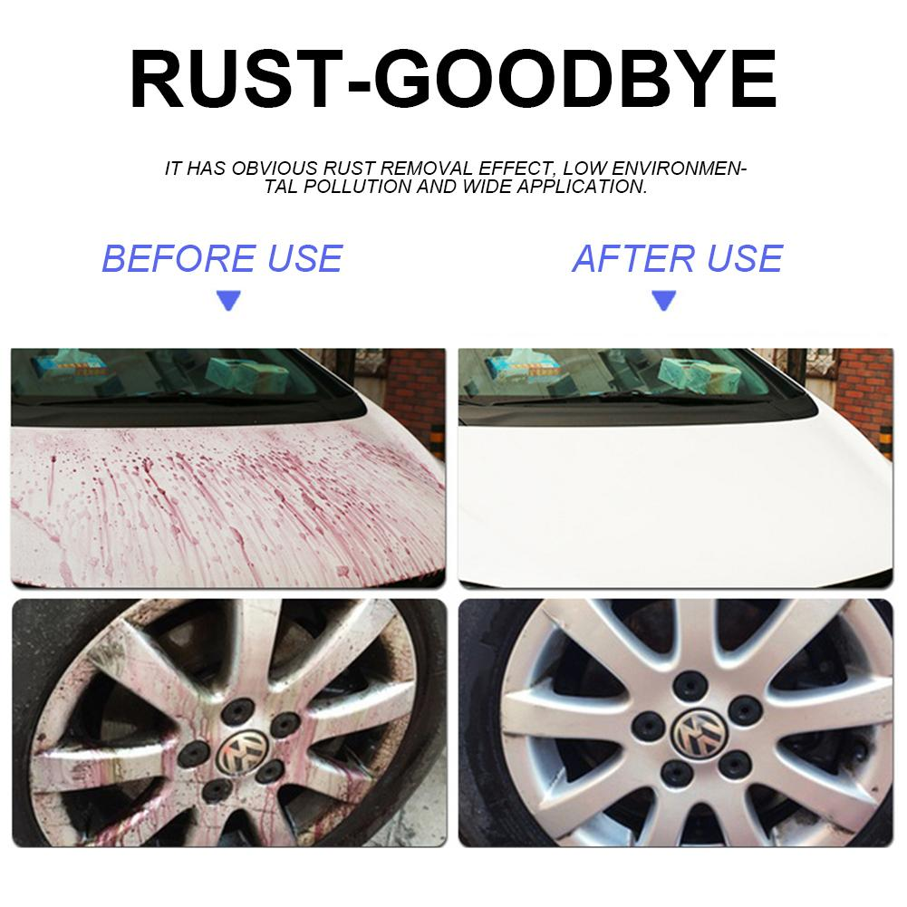 Image 3 - Car Wheel Paint Surface Iron Powder Remover Body Derusting Car Paint Rust Oxide Layer Cleaning Agent Decontamination Car Clean-in Spot Rust & Tar Spot Remover from Automobiles & Motorcycles