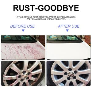 Image 3 - Car Wheel Paint Surface Iron Powder Remover Body Derusting Car Paint Rust Oxide Layer Cleaning Agent Decontamination Car Clean