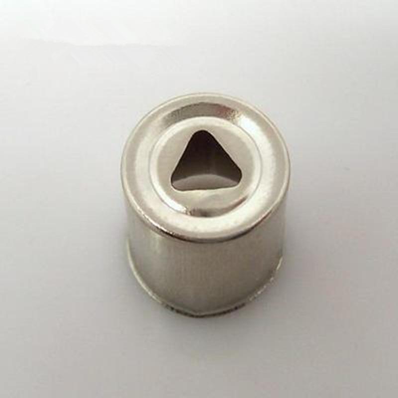 6 Stücke Stahlkappe Ersatz Mikrowelle Loch Magnetrons Mikrowelle Teile Magnetron Kappe