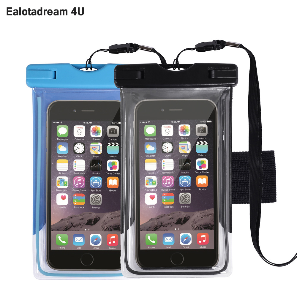 Waterproof Pouch Sport Case Arm band Dry Phone Bag Sleeve Pouch For iPhone 7 6 6s Plus/Samsung S7 S8 S6 S6 Edge Under 5.5 inch