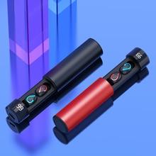 TWS беспроводные наушники 3D стерео мини Bluetooth наушники 5,0 с двойной микрофон спортивные IPX4 водонепроницаемые беспроводные наушники Автоматическое Сопряжение