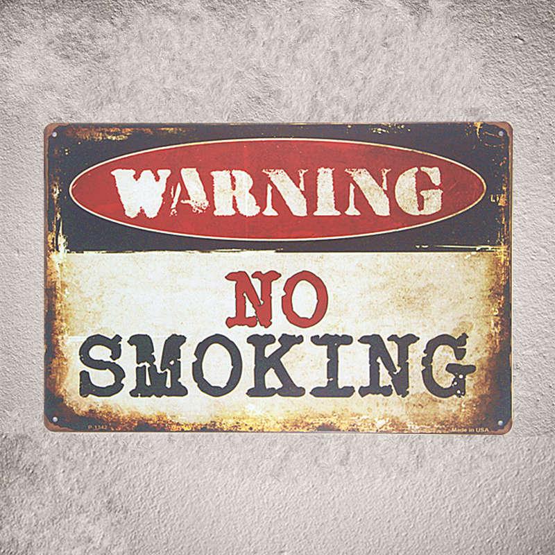 Vintage Tin Sign in Pin up Poster Birrë Paralajmërim jo për tu - Dekor në shtëpi - Foto 6