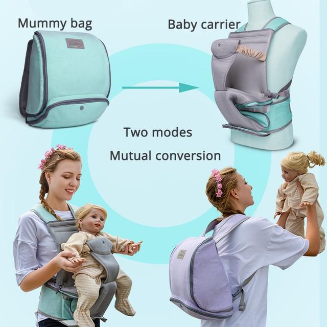 Honeylulu Front Facing Baby Carrier Multifunction Portable Mummy Bag Sling For Newborns Kangaroo For Children Ergoryukzak Hipsit   Happy Baby Mama