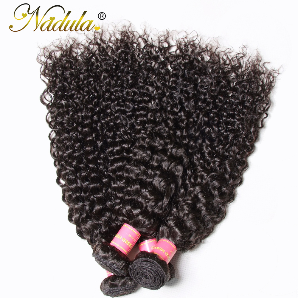Nadula Hair 4pcs/Lot  Curly Hair Bundles 100%  s 8-26INCH  Hair s  3
