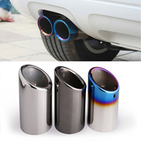 Exhaust system car exhaust pipe For Volkswagen VW Golf 6 Golf 7 Mk6 Mk7 Bora Jetta Scirocco 1.4T Accessories For VW Polo sticker