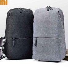 Оригинальные Xiaomi Mi сумки через плечо курьерские Сумки для мужчин и женщин на плечо унисекс рюкзак ранец
