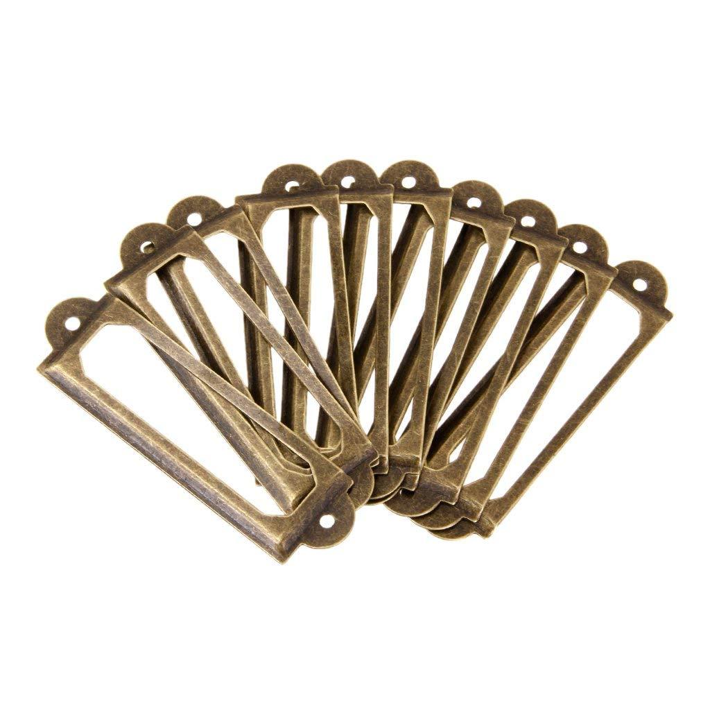 Горячая лот из 50 рамка имя Этикетка ручка этикетка для ящика двери шкафа