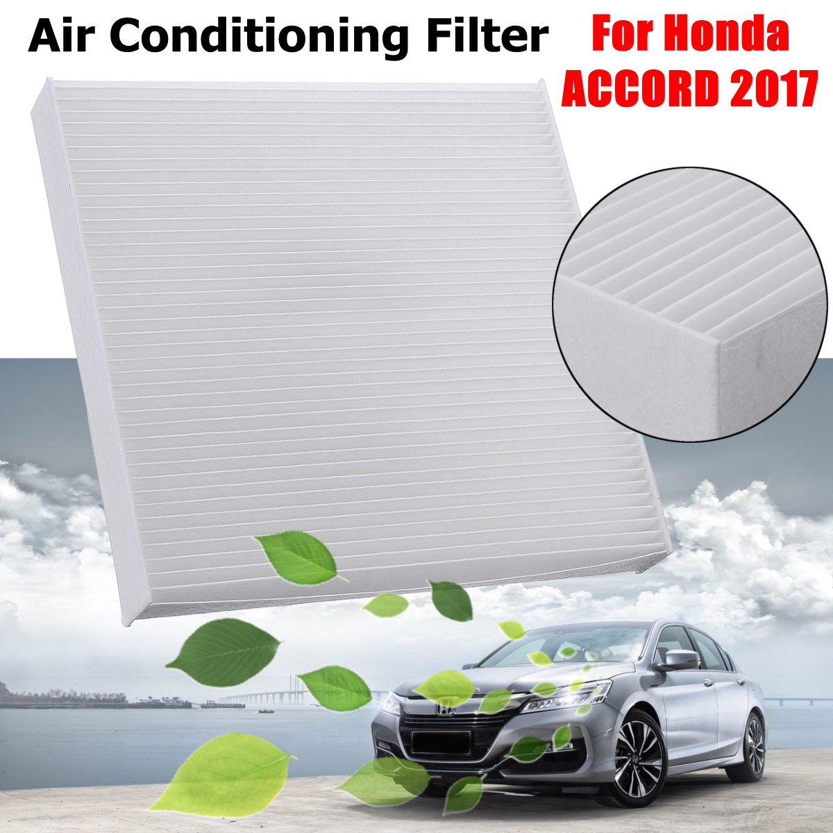 1pcs Automotive Cabin Air Conditioning Filter For Honda Accord 2017 Fits Multiple Models