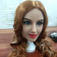 AILIJIA silicon doll sex #121 Oral Sex Doll Head with smile face for Male Real Big Size Love Dolls 135cm 176cm Sex Toy