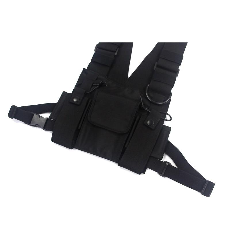 Men's Tactical Shoulder Chest Rig Bag 9
