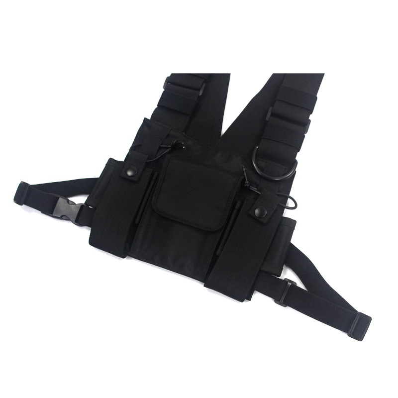 Tactical Military Chest Rig top view