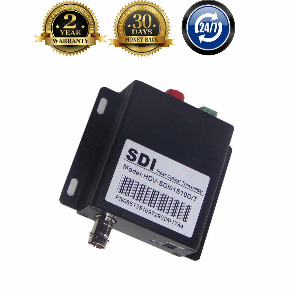 スーパー品質hd sdi同軸光ファイバーコンバータでrs485制御20キロメートルbncフィブラ光学ビデオトランスミッター以上fc繊維