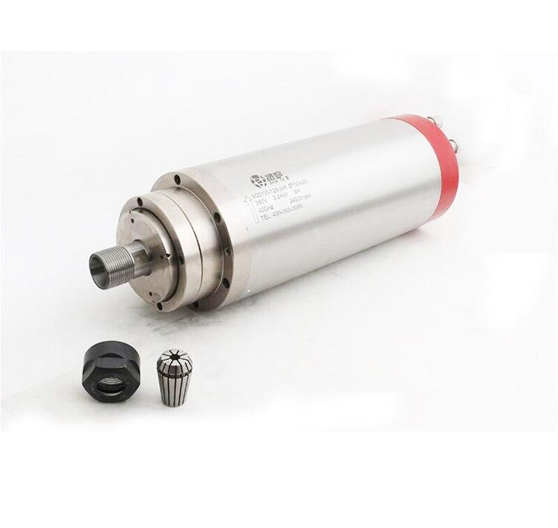3.2KW Электрический ЧПУ гравер шпинделя 4 подшипника шпинделя 100 мм деревообрабатывающий станок шпинделя 220 В
