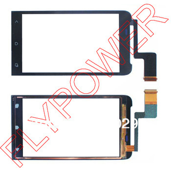 For HTC One V T320e Touch Screen Digitizer black free shipping:100% warranty