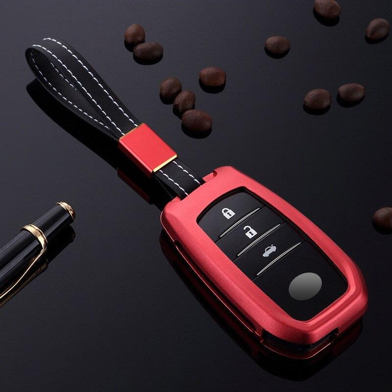 Aluminium-Alloy-Key-Cover-Case-Holder-For-Toyota-Camry-Highlander-Prado-Crown-Land-Cruiser-Prius-Vitz (2)
