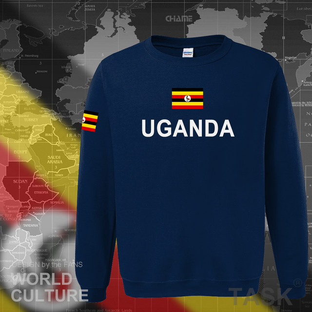Uganda Ugandan hoodies men sweatshirt sweat new hip hop streetwear tracksuit nation clothing sporting country flag UGA Uganda 1