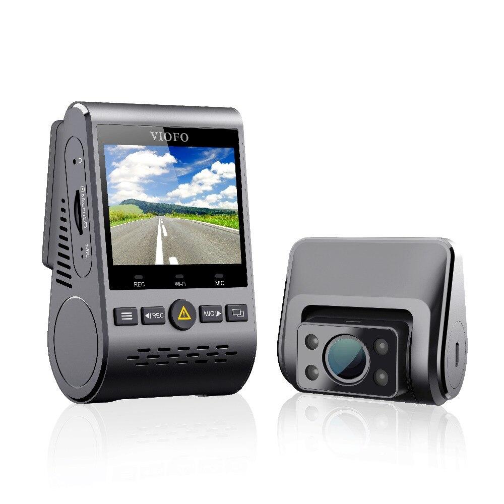 2019 NOVA A129 Duo IR Frente E Interior Dual Tamponado 5GHz Wi-Fi Full HD 1080P Traço Cam Estacionamento modo Para Uber Lyft Táxi com GPS
