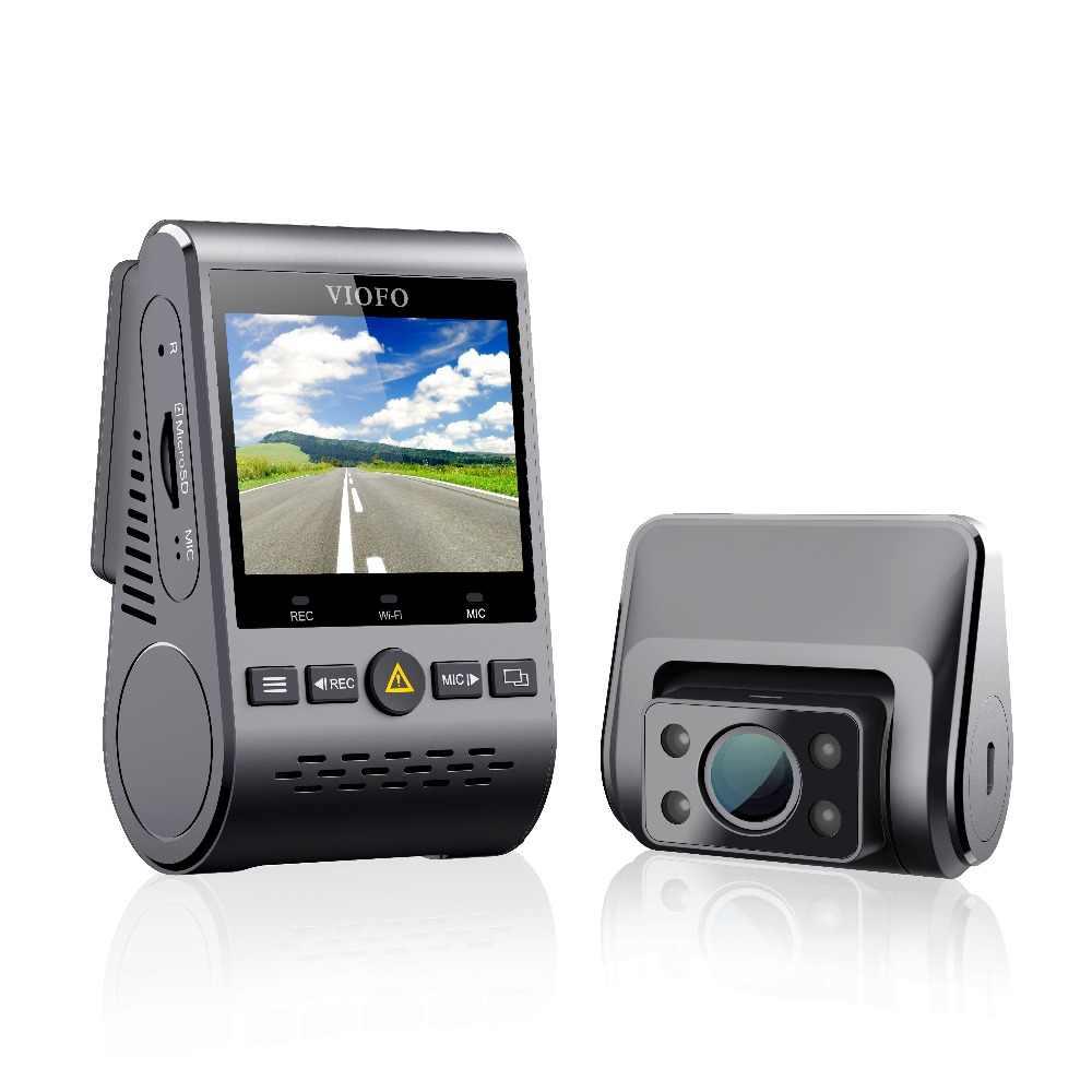 VIOFO A129 Duo IR Vorne Und Innen Dual Dash Cam 5GHz Wi-Fi Volle HD 1080P Gepuffert Parkplatz Modus für Uber Taxi