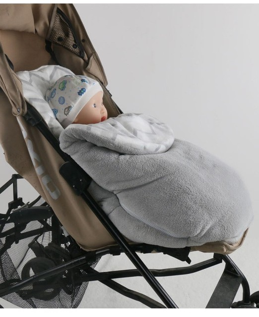 Newborn baby swaddle wrap soft fleece infant baby swaddle Blanket brand Warm fleece Wind Proof Baby Stroller Sleeping Bag