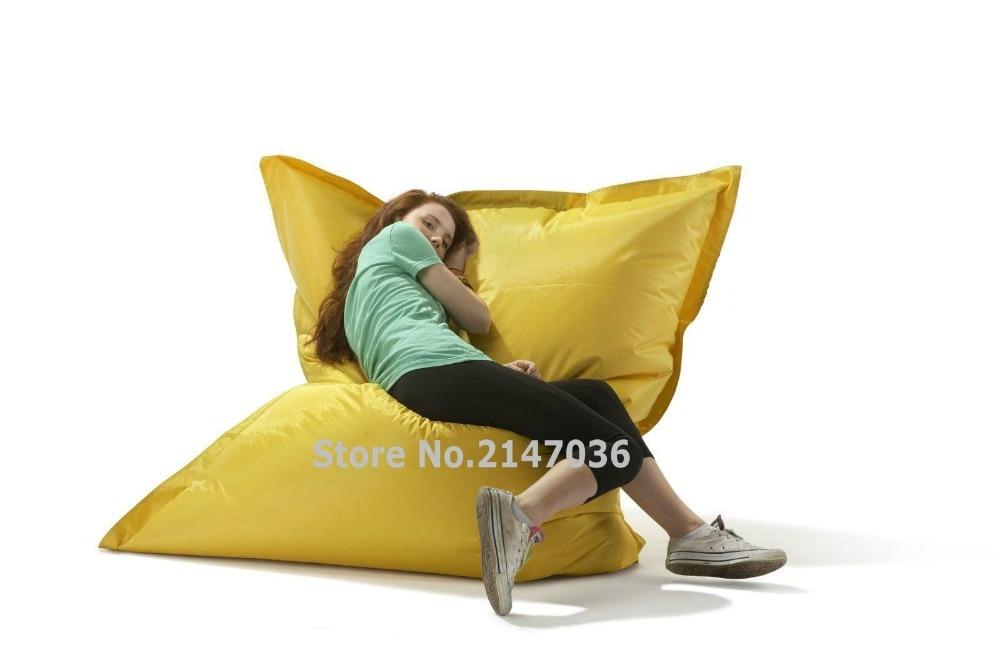 Желтый и зеленый открытый спальный стул, крытый отдыха погремушка диван ...