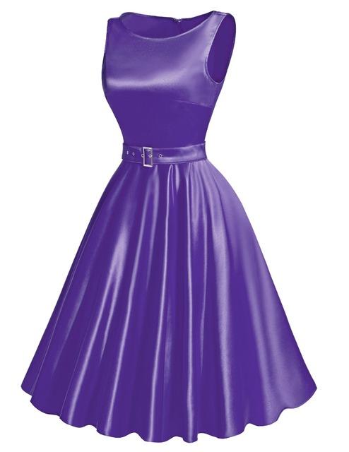 Women's Clothing Summer Style 2016 Audrey Hepburn Vintage pinup Retro robe Vestidos casual gown big swing 50s Rockabilly Dresses