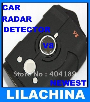 Détecteur de Radar de voiture Laser V8 le moins cher avec double cœur 2 KM bandes de Distance de détection LX/K/Ka/Ku/nouveau K/L