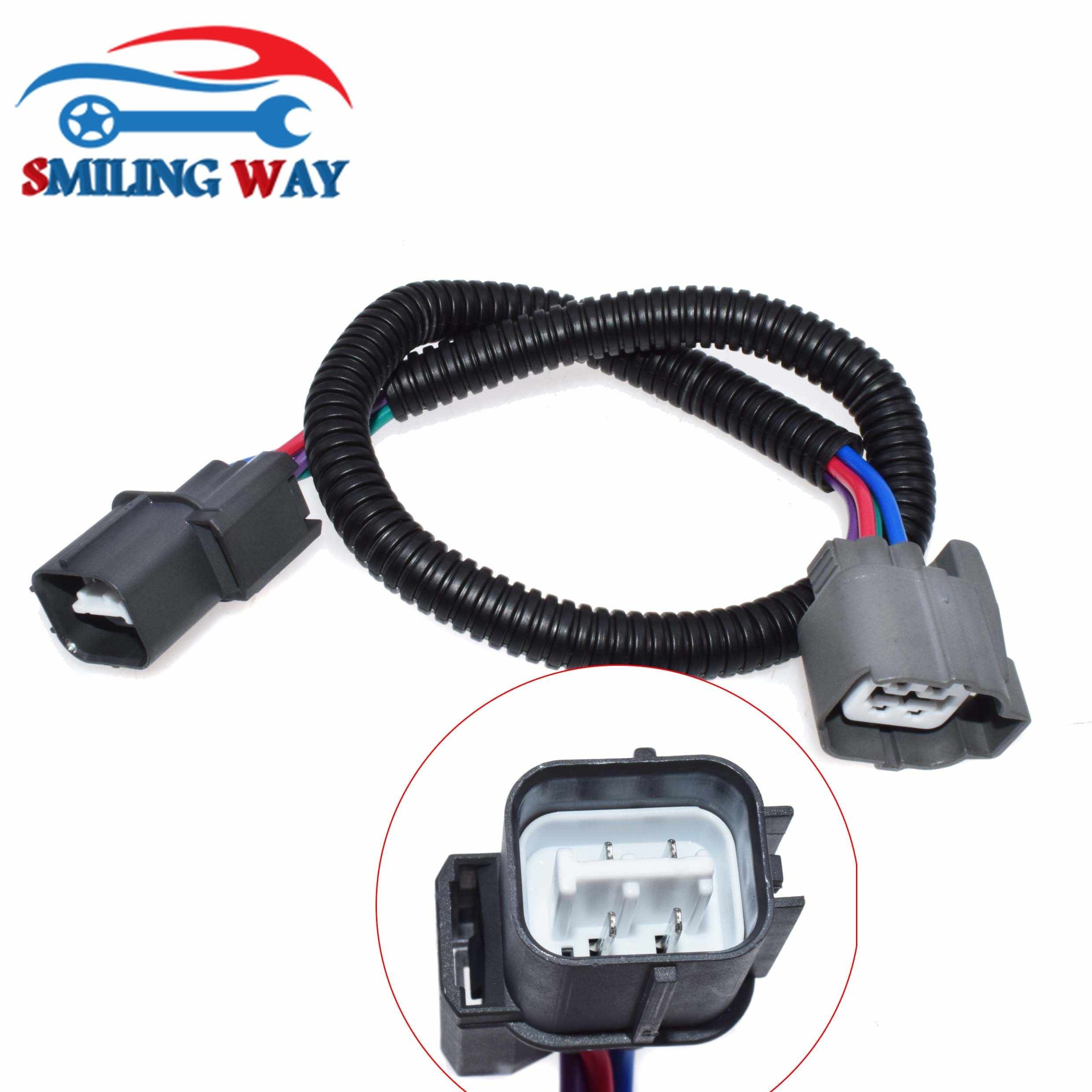 SMILING WAY# O2 Oxygen Sensor Extension Harness Connector ... on