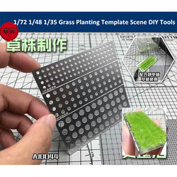 1/72 1/48 1/35 Scale Static Grass Planting Template for Electrostatic Flock Applicator Scene Sand Table DIY Model Accessory Tool