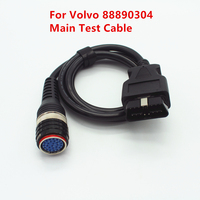 OBD2 Main Diagnostic Cable for Volvo 88890304 Interface Main Test Cable for Volvo Vocom 88890304 OBD II Cable Vocom
