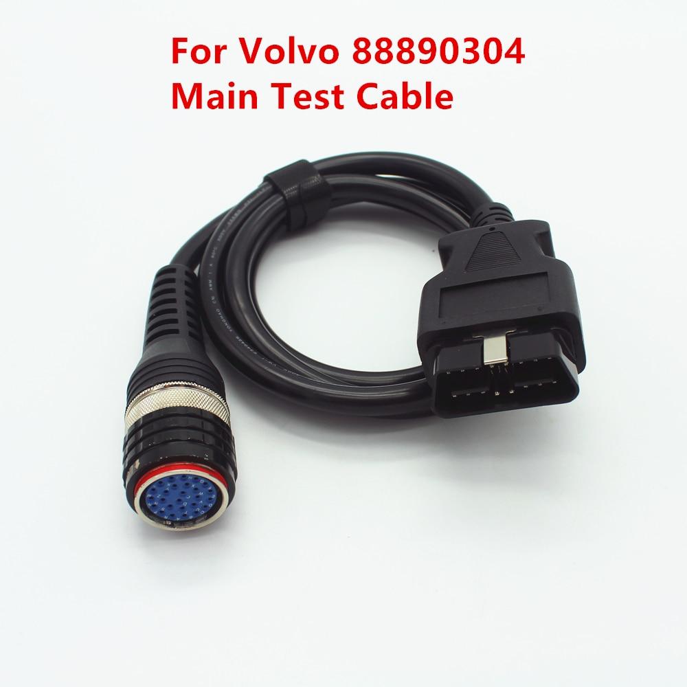 OBD2 Main Diagnostic Cable For Volvo 88890304 Interface Main Test Cable For Volvo Vocom 88890304 OBD-II Cable Vocom