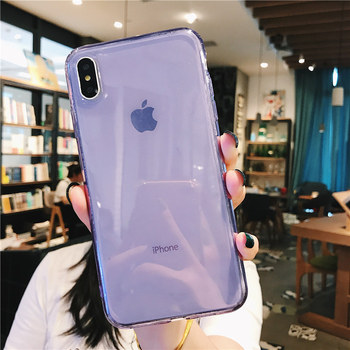 Silicone Back Cover iPhone Xs Max