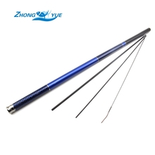 Best Quality Carbon Fiber Stream Hand Fishing Rod 3.6m 4.5m 5.4m 6.3m 7.2m Ultra Light Feeder Carp Fishing Pole Lowest profit