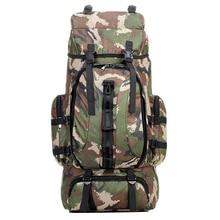 Big Men Sport Bags 70L Outdoor Tactical Backpack Multifunction Molle Bag Water Resistant Military Rucksack For
