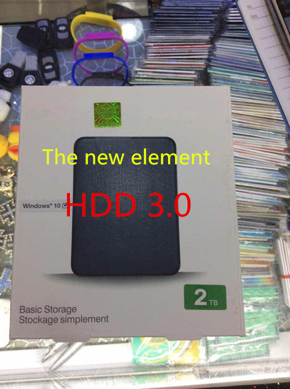 COMTOP External-Hard-Drive HDD Portable 2TB Laptop Internal Sata Usb-3.0 Hddelements