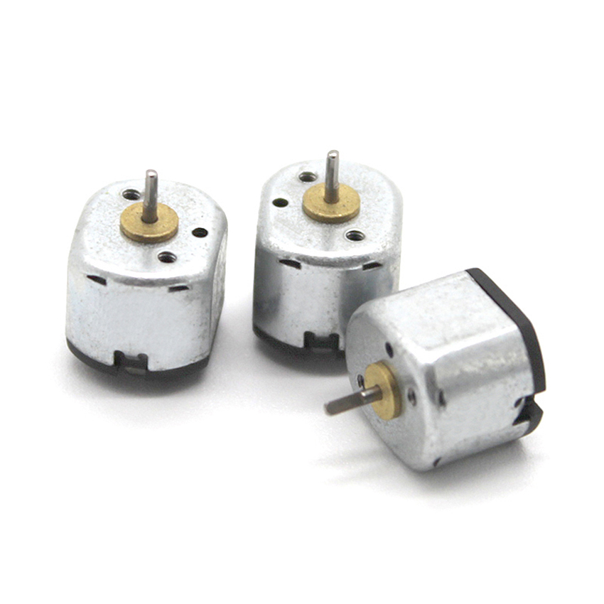 2PCS DC 3V 6V Mini 130 Motor Long Axis Carbon Brush Motor Speed Encoder For DIY