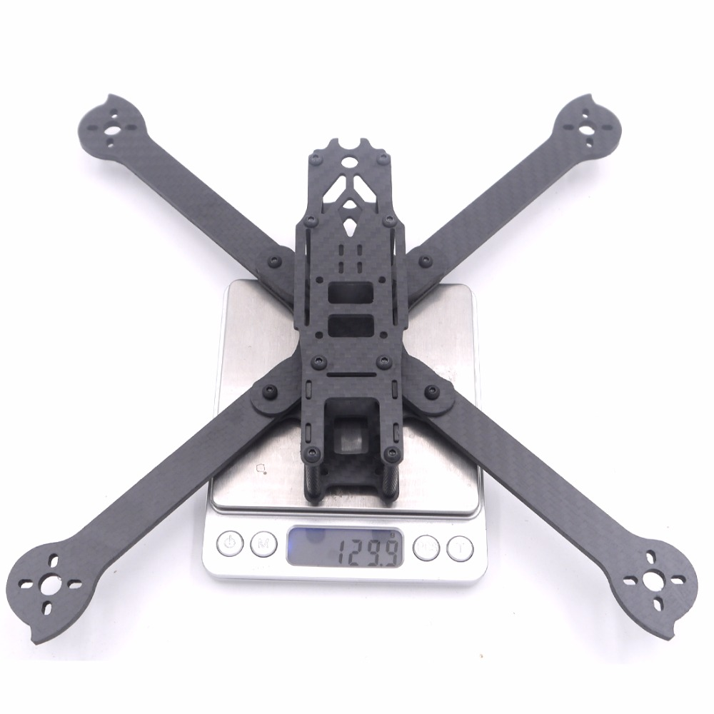 3K Full Carbon Fiber XL5 V2 235mm XL7 295mmTrue X 5 7 inch FPV Freestyle Frame w/ 4mm arms Racing kit quadcopter Islamabad
