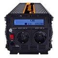Инвертор модифицированный синусоидный инвентор с 3000 W AC 220 V 230 V 240 V DC 12 V, ЖК-дисплей дисплей и пульт дистанционного управления