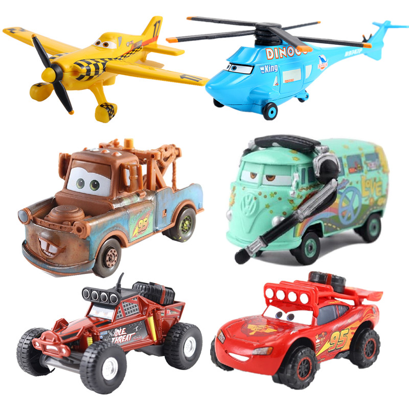 New Disney Pixar Sedan 3 Toy Car McQueen 1:55 Die-casting Metal Alloy Model Toy Car 2 Boys Birthday Christmas Gift Collection